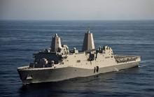 Tàu đổ bộ cỡ lớn Mỹ cập Cảng quốc tế Cam Ranh