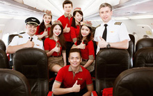 Vietjet tuyển tiếp viên hàng không trên toàn quốc