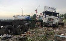 Tai nạn nghiêm trọng ở dốc cầu Phú Mỹ, 2 người tử vong