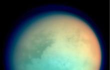Ngắm hoàng hôn sương mù trên mặt trăng Sao Thổ