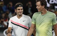 Federer nhẹ nhàng vào bán kết Úc mở rộng
