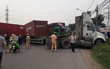 Tai nạn liên hoàn trên Quốc lộ 1, kẹt xe kéo dài