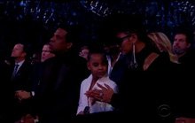 Con gái vợ chồng Beyonce thu hút tại Grammy 2018