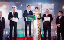 Hoa hậu Bùi Thị Hà chi 2 tỷ đồng cho tiệc tất niên công ty