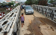 Thông xe cầu Long Kiểng sau 10 ngày sửa
