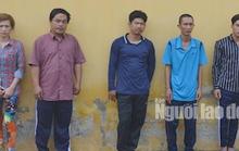 Gây rối trạm thu phí và hành hung cảnh sát, 5 đối tượng bị khởi tố