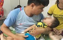 Bé trai 2 tuổi bất ngờ bị chó becgie nhà nuôi cắn rách mặt