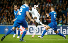 Nhà vô địch World Cup Pháp suýt bị Iceland hạ đo ván sân nhà