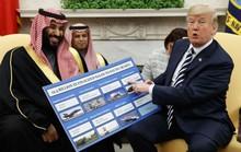 Ông Trump: Ngừng bán vũ khí cho Ả Rập Saudi là tự trừng phạt
