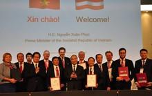 Thủ tướng tiếp thị các nhà đầu tư Áo mua cổ phần DN, đường giao thông...