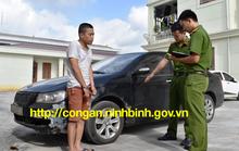Trộm xế hộp từ Tiền Giang phóng ra Ninh Bình trộm cắp tiếp