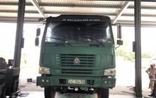 Xe tải xài tem giả, cabin ghi Uỷ ban Nhân dân TP HCM