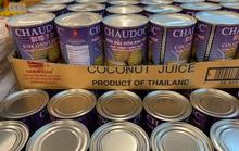 Nước dừa 'Châu Đốc' của Thái Lan bán đầy chợ Việt tại Mỹ