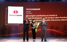 "Techcombank được vinh danh tại ""The Asia Human Resource Development Awards 2018"""