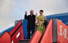Thủ tướng, phu nhân và đoàn cấp cao đã đến Copenhagen, Đan Mạch