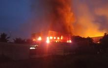 Bình Dương: Cháy lớn ở công ty gỗ T.G