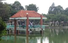 Nợ gần 100 triệu đồng, công viên bị cúp nước