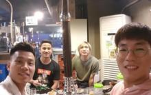 Văn Thanh, Đức Lương hội ngộ Tuấn Anh khi sang Hàn Quốc mổ gối