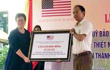 Mỹ trao hơn 2,1 tỉ đồng tu sửa Thành Nhà Hồ
