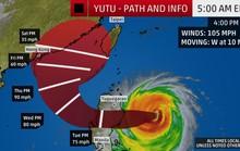 Siêu bão Yutu hạ cấp, Philippines vẫn nâng mức cảnh báo