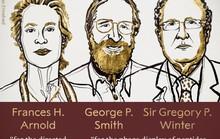 Nobel Hóa học 2018 vinh danh 3 nhà khoa học tiến hóa