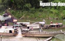 Công an vào cuộc điều tra vụ khai thác cát, sỏi lậu trên sông Hương
