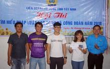 Tây Ninh: Công nhân nhà trọ thi tìm hiểu pháp luật