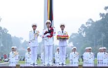 Xúc động lễ treo cờ rủ Quốc tang nguyên Tổng Bí thư Đỗ Mười