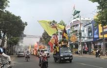 CĐV Nam Định làm nóng trận chung kết ngược tại Cần Thơ