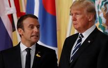 Tình anh em Trump - Macron đã chết!