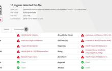 Thông tin lộ dữ liệu doanh nghiệp trên RaidForums có chứa virus?