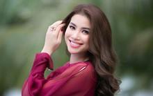 Hoa hậu Phạm Hương xuất hiện sau tin đồn đi Mỹ sinh con