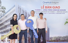 Bàn giao tòa tháp Tower 1 thuộc dự án OneHub Saigon