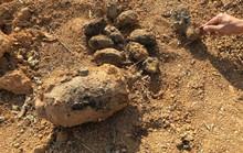 Tá hỏa khi đào đất vườn nhà thấy la liệt bom, mìn, lựu đạn