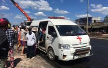Vụ xe bồn gây tai nạn kinh hoàng: Mẹ vẫn ôm chặt 2 con khi tử vong!