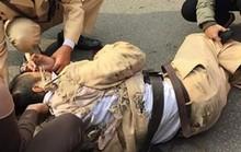 Tài xế xe tải ngủ gật tông chết đại úy CSGT