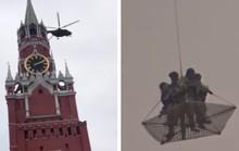 Trực thăng quân sự bí ẩn vào vùng cấm bay Kremlin
