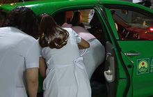 Tài xế đỡ đẻ cho sản phụ trên taxi trong đêm mưa gió