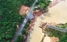 Mưa lớn cô lập nhiều nơi ở Khánh Hòa, Ninh Thuận và Lâm Đồng