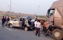 Hủy 2 bản án đã tuyên, điều tra lại vụ xe container tông Innova lùi trên cao tốc