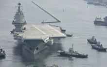Tàu sân bay tự chế mới của Trung Quốc trúng đòn Mỹ