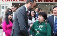 Thủ tướng Pháp dự khai trương Trung tâm Y tế tại TP HCM