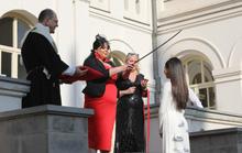 Hoa hậu Hoàn vũ nhí Ngọc Lan Vy được Hoàng gia Georgia phong tước