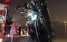 Xác định chủ nhân xe Mercedes lao xuống sông Hồng khiến 2 người tử vong
