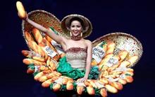 Váy bánh mì tỏa sáng cùng trang phục dân tộc rực rỡ
