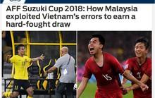 Báo châu Á và Cộng đồng mạng tiếc cho Việt Nam