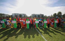 Tưng bừng ngày hội bóng đá nhí Việt - Nhật