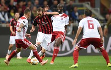 Cựu vương châu Âu AC Milan thua thảm ở Europa League