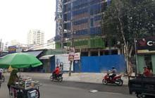 Tai nạn ở công trình 12 tầng tại quận Bình Thạnh, một người bị thương