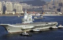 Tàu sân bay Trung Quốc gặp hạn